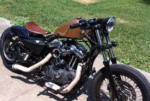 Motorky Štýlu Bobber
