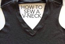 How to Sew a V-Neck