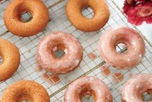 Donuts | Dessert for Breakfast / Whether they're frosted, glazed, dipped, or full of colorful sprinkles-everyone turns to donuts as the perfect excuse to have dessert for breakfast. Find your next favorite donut recipe here and your next excuse to enjoy a sugary baked treat at any hour of the day.