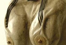 Violin Woman 2007 sculpture