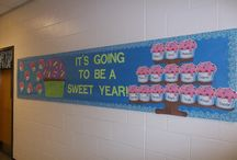 bulletin board ideas / by Cheryl Scarbrough
