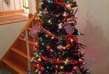 NASCAR tree / NASCAR inspired christmas tree