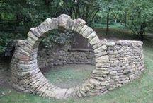 puerta de piedra