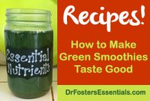 """Making Green Smoothies Taste Good / As a holistic MD who's been seeing patients for over 20 years, I want the best for them. Want to have healthy greens in your diet, but dislike salads? You could put all of your greens together into a powder and mix them with juice. I did this and came up with and organic green food supplement called Essential Nutrients. I compiled these recipes to help disguise the taste of """"greens.""""  Good news: you can still have a great-tasting healthy SKINNY green drink without FATTENING sugar!"""
