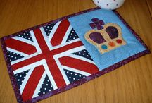 Mini Quilts / Mug Rugs/ Potholders / by Emily King