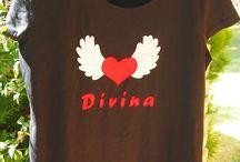 """Camisetas """"Mis Divinas"""" / Estas camisetas, son todas con motivos de calaveras."""