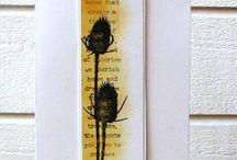 Layered silloette flower