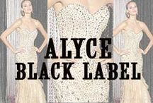 ALYCE BLACK LABEL DRESSES / Alyce Black Label Dresses are designed for the modern day woman who wants to make a grand entrance at any event. This collection of exudes a Hollywood flair and are tailored to provide superior fit. T  http://www.missesdressy.com/dresses/designers/alyce-paris/alyce-black-label
