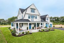 TOH Beach House at East Matunuck / An update of a classic seaside architectural style, our 2017 Idea House is built for easy living, with a flexible layout that can welcome multiple generations.