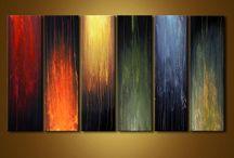 Peintures art abstrait