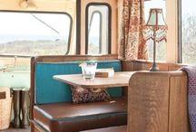 Living on Wheels / Vintage Campers, Glamping