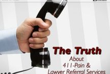 Florida Lawyer Referral Services / Should I call 411-Pain or Ask-Gary following an accident?