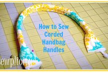 Sewing / Tutorials; how to