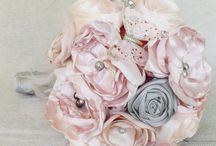 Bouquet de mariée et boutonniere