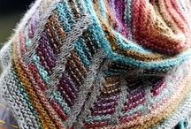 Scarfs:knitted