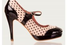 Chaussures rétro pinup rockabilly 50's / toutes nos chaussures : balleries escarpins bottes... sur www. belldandy.fr