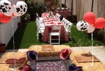 Barnyard theme Party / Barnyard theme party items including invitations, printables and more. Visit our website for complete barnyard and western themes! http://cinemashopboutique.com/by-theme/barnyard-cowboy-cowgirl-western/barned-and-dangerous-collection/