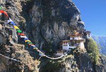 Bhutan / Un insieme di foto scattate dal titolare dell'agenzia Alberto Benini durante i viaggi di gruppo organizzati e da lui accompagnati in Bhutan nel corso degli anni.