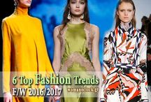 Fashion Trends F/W 2016-2017 / Όλες οι νέες τάσεις στη Μόδα και την Ομορφιά (Μαλλιά, Νύχια, Μακιγιάζ) για τη σεζόν Φθινόπωρο Χειμώνας 2016-2017.
