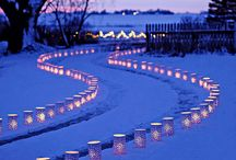 lighting / Indoor and outdoor lighting ideas for a  sparkling atmospheric party