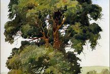 Рисовать деревья