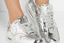 Chaussure tendance  2016-2017 / Nike air max couleur métallique