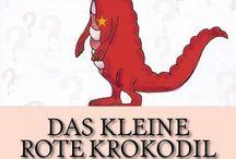 Kinder eBook / ...ein kleines rotes Krokodil zieht hinaus in die Welt, um zu erfahren, weshalb es rot ist... Bilder-eBook für Kids ab 3 Jahren