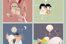 Illustration that inspires / by Els Deveuster (Koekje Haakje Maak Je)