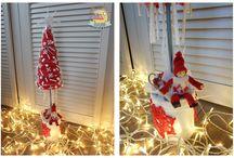 Moje dekoracje dla firm Boże Narodzenie 2014 / Dekoracje świąteczne dla firm -  specjalne zamówienia Wianki, stroiki, choinki... https://www.facebook.com/agajoka
