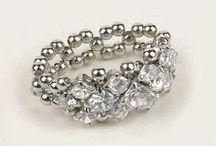 pierścionki z koralików