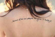 tatoos / by Kimi Burris