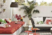 Terrazas bonitas para verano / Ideas que inspiran para decorar tu terraza o balcón en verano.