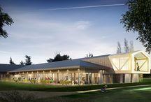 Club house golf de chassieu