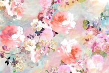 Pastel floral designs