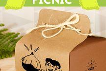 Packaging for food / Packagings, envoltorios para picnics y comidas