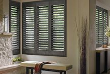 Heritance® Handcrafted Series Shutters / Heritance Hardwood Shutters, named Product of the Year by the Window Covering Manufacturers Association (WMCA), the benchmark of industry excellence, introduces the new Handcrafted Series blending the natural elegance of genuine wood with custom artistry allowing you to create a truly custom look.