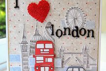 Love London Paper Pad / by Craftwork Cards