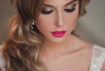 Makijaż ślubny, Inspiracje /Makeup wedding Inspiration / ślub wesele weselnapolska makijaż makeup inspiracja usta wedding, oczy.