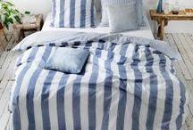 MARItim / Bettwäsche und Badartikel rund um das Thema Maritim. Blau-Weiß gestreift oder ein Anker mal hier und da....