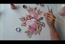 aulas vídeos de pintura