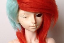 Ball Joint Doll Inspiration/Ideas / A collection of BJD inspiration to get my character creation juices flowing~