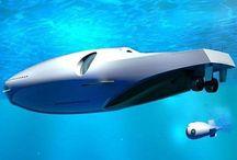 Underwater Luxury Yacht concept