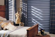 Shades and Shutters / Transform your space with Hunter Douglas cellular shades or wood blinds
