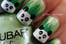 Animals Nails Art