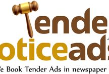 book For Tender Notice Ads