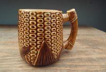 Mid Century Pottery Mug