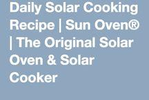 Food: Sun Oven