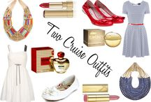 Marine / Ideal outfitts for seaside escapes or cruises White, stripes, blue marine and red