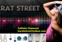 Discounted Fashion jewellry Online  |  Buy  Diamond Crystal Ornaments /  karatstreet  is the one stop online jewellery shop having wide range of engagement, wedding,diamond rings,jewellery set,Wedding ornaments,Swarovski Wedding Jewels etc.,