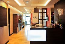 Bay Yoga Dubai - Studio Photos / Our yoga studio is equipped with a 'State of the Art' air conditioning system, designed to meet the demands of Bikram Yoga.